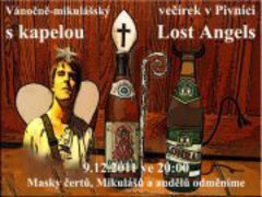 Profilový obrázek Lehce opožděný vánočně-mikulášský večírek v Pivnici + koncert Lost Angels