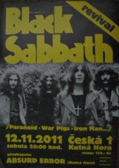 Profilový obrázek Black Sabbath revival + Absurd Error
