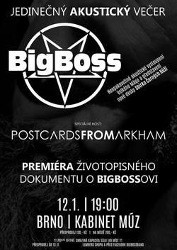 Profilový obrázek BigBoss Band+Postcards From Arkham (akustický koncert)