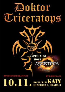 Profilový obrázek Koncert Doktor Triceratops a Imortela