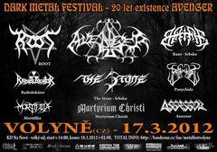 Profilový obrázek DARK METAL fest - 20th anniversary AVENGER existence