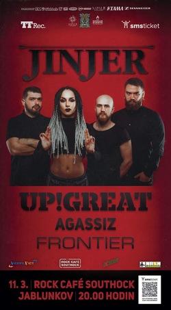 Profilový obrázek Jinjer /UA/ | Up!Great | Agassiz | Frontier