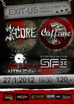 Profilový obrázek X-CORE, CAFFEINE, S-F-I, APOSEPSIS
