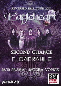 Profilový obrázek EagleHeart: Reversed Fall Tour 2017 @ Praha (+ Flowerwhile & Second Chance)