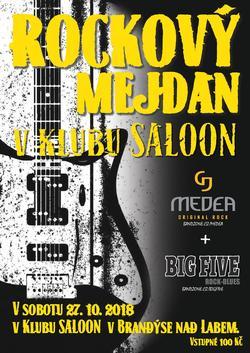 Profilový obrázek Rockový mejdan kapel Medea a Big Five