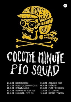 Profilový obrázek Cocotte Minute + Pio Squad /  Rude Boys Rallye Tour 2018