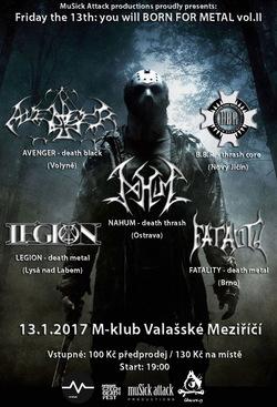 Profilový obrázek Born for Metal vol. II