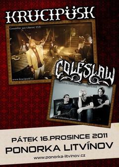 Profilový obrázek KRUCIPÜSK vs. COLESLAW MINI-TOUR
