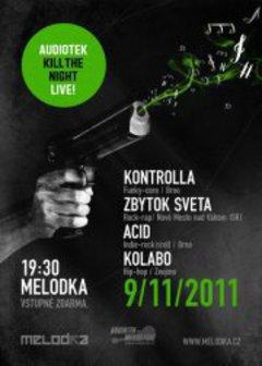 Profilový obrázek AUDIOTEK KILL THE NIGHT LIVE! MELODKA FREE!