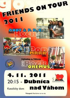 Profilový obrázek FRIENDS ON TOUR 2011 - Dubnica nad Váhom