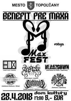 Profilový obrázek MAXFEST (Benefičný koncert pre Maxa)
