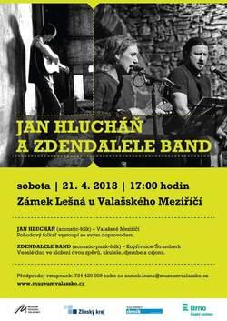 Profilový obrázek dvojkoncert Jan Hlucháň a ZdenfaLeLe band