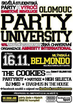 Profilový obrázek Olomouc Party University