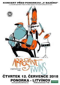"""Profilový obrázek Léto v Ponorce: Arrogant Twins v """"bazénu"""""""