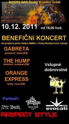 Profilový obrázek Rockový koncert na podporu psího útulku Amira v Český Budějovicích
