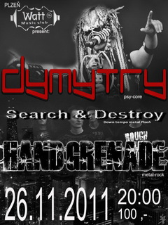 Profilový obrázek Dymytry,Hand Grenade,Search&Destroy