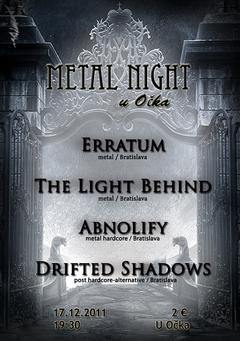 Profilový obrázek Metal night vol. 1