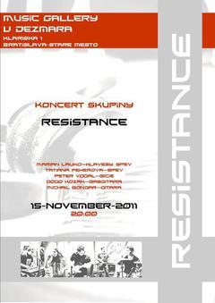 Profilový obrázek Resistance Live v Music Gallery U Dezmara