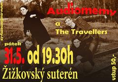 Profilový obrázek Audiomemy + The Travellers v Žižkovském suterénu