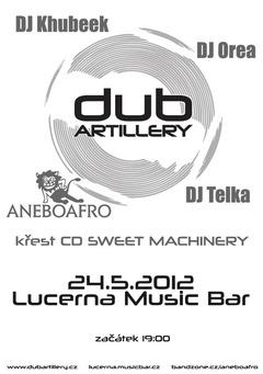 Profilový obrázek DUB ARTILLERY - křest CD (support ANEBOAFRO & DJs)