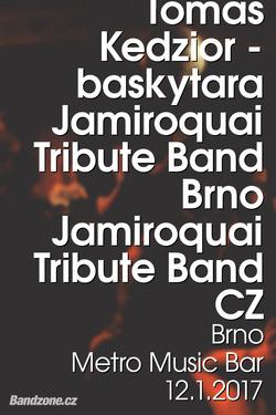 Profilový obrázek Jamiroquai Tribute Band - opět po roce v Metru