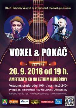 Profilový obrázek Voxel & Pokáč - dvojkoncert