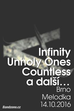 Profilový obrázek Heavy Melodka - Infinity, Unholy Ones, Countless, Eponine