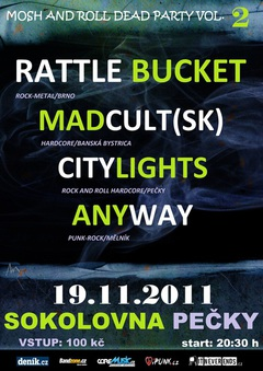 Profilový obrázek MAD AUTUMN LIGHTS TOUR 2011 - MOSH AND ROLL Vol. 2