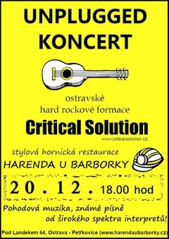 Profilový obrázek Unplugged Critical Solution