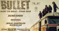 Profilový obrázek BULLET (SWE): DUST TO GOLD TOUR 2018