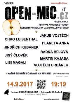 Profilový obrázek Festival autorské tvorby | OPEN-MIC.cz | Přijď a hraj!