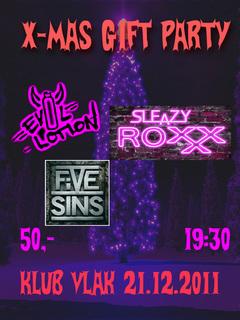 Profilový obrázek Vánoční Evil Lotion + Sleazy RoXxX + Five Sins ve Vlaku