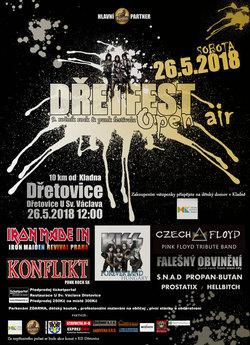 Profilový obrázek DřetFest open air - 9.ročník rock & punk festivalu