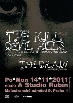 Profilový obrázek THE DRAIN jako support The Kill Devil Hills (AUS)
