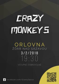 Profilový obrázek Crazy Monkeys v Orlovně