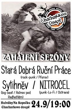 Profilový obrázek Zahájení sezóny 2016 / Stará Dobrá Ruční Práce / Spytihněv / Nitrocel