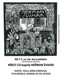 Profilový obrázek Křest prvního CD !!! Heřmana Šviháka