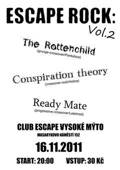 Profilový obrázek koncert Ready Mate + The Rottenchild + Conspiration theory