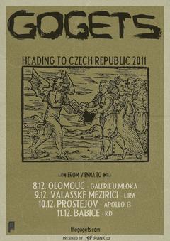 Profilový obrázek GOGETS czech republic tour 2011