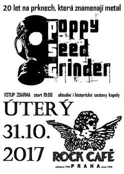 Profilový obrázek -VSTUP ZDARMA-   20 let Poppy Seed Grinder + host Sarcom
