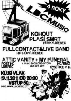 Profilový obrázek 4 ROKY LBCMUSIC.CZ (LIVE LIFE 2011 TOUR)