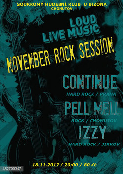 Profilový obrázek November rock session in Bizon