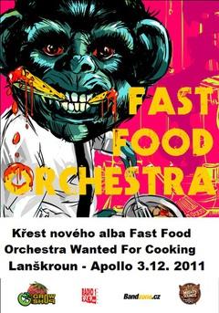 Profilový obrázek Křest nového CD Fast Food Orchestra v Lanškrouně