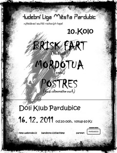 Profilový obrázek Hudební liga města Pardubic - 10. základní kolo