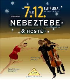 Profilový obrázek NeBezTebe - s hosty v Brně na Leitnerce