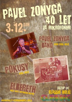 Profilový obrázek Pavel Zonyga 40 let za mikrofonem