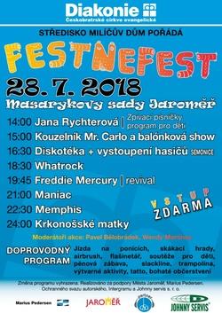Profilový obrázek FestNeFest 2018 - Jaroměř