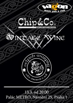 Profilový obrázek Chip&Co, Vintage Wine and Selfish Murphy ve Vagónu