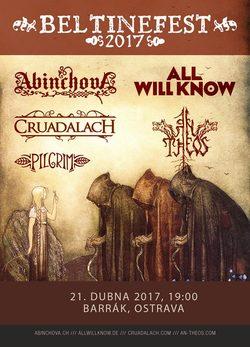 Profilový obrázek Beltinefest Silesia: Cruadalach, Abinchova, An Theos, All Will Know, Pilgrim.