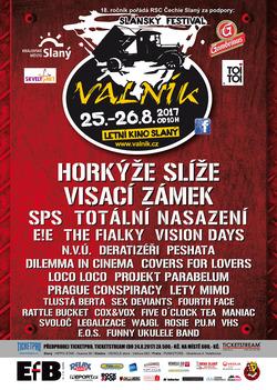 Profilový obrázek Slánský rockový open air festival Valník vol. 18